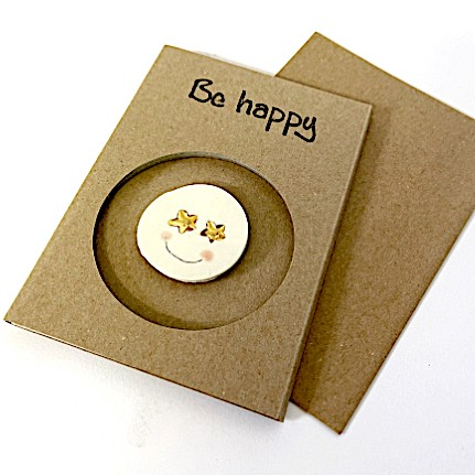 Magnetkarte «Smiley»