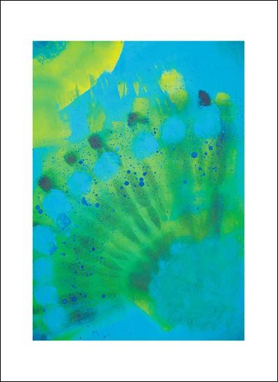 Kunstkarte Sonnenschimmer