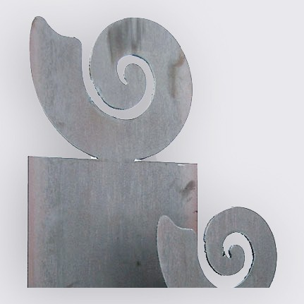 Stele «Muschel» (kleines Motiv) mit Anker