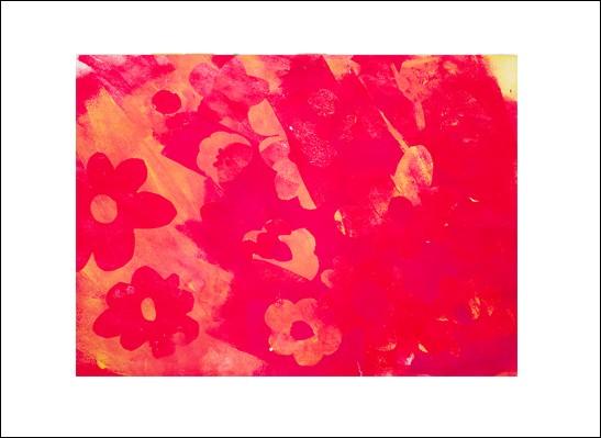 Kunstkarte Blütentanz