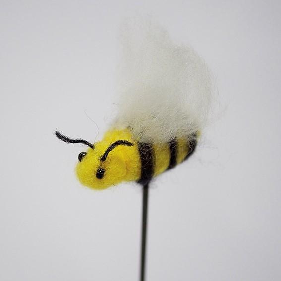 Biene Filz (gelb)