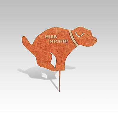 Metallfigur Hund «Robi»