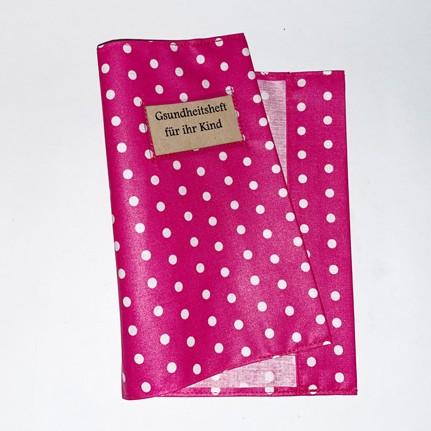 Hülle für Gesundheitsheft (pink)