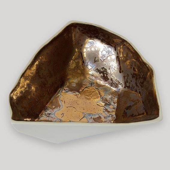 Lichterschale Bronze (Kristall)