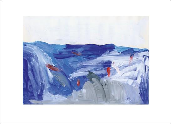 Kunstkarte Winterwetter