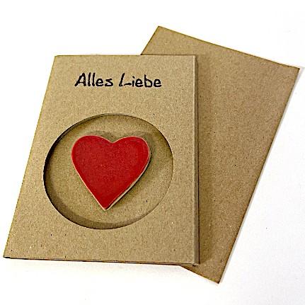 Magnetkarte «Herz»
