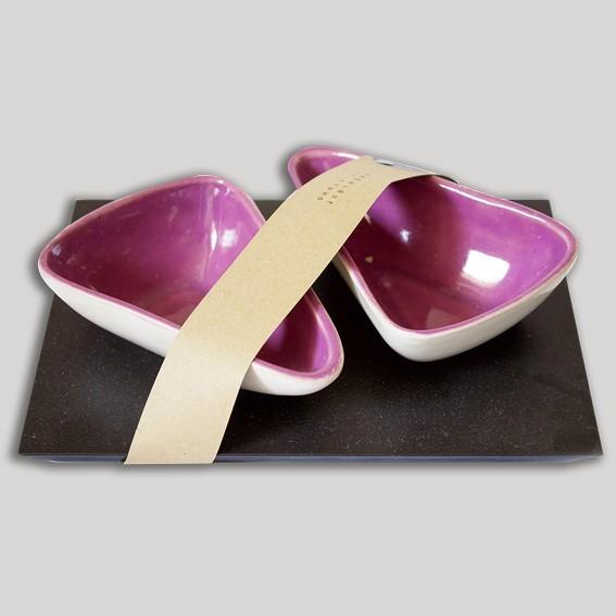 Zweier-Schalen (violett)
