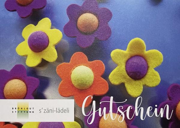 Geschenkgutscheine s'Zäni-Lädeli