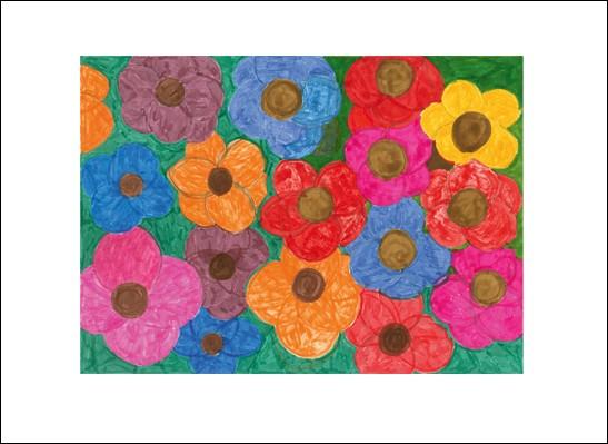 Kunstkarte Blumenpracht ll