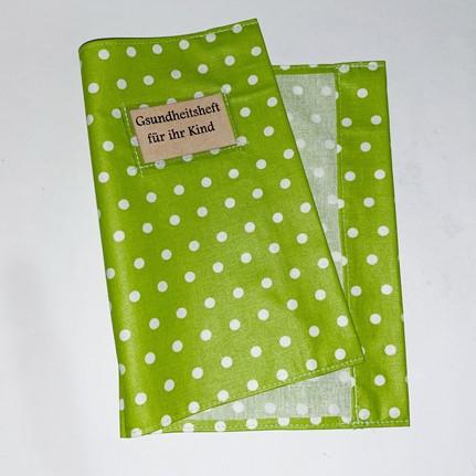 Hülle für Gesundheitsheft (grün)