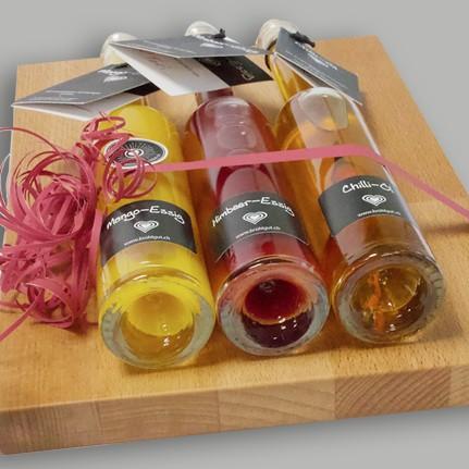 Kulinarik-Geschenkset (inkl. Schneidebrett)