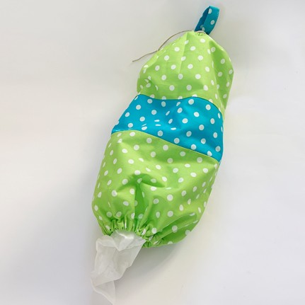Beutel im Beutel (grün / blau)